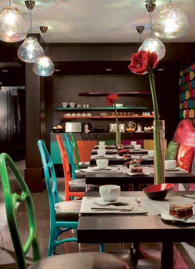 Hotel Cristal - Salle petit déjeuner